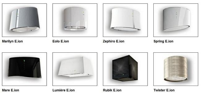 Falmec E.ion  Campanas inteligentes que desinfectan y desodorizan el aire